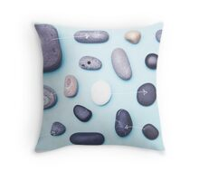 Paired pebbles... Throw Pillow