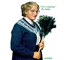 Mrs. Doubtfire Photographic Print