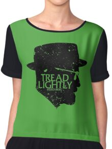 Tread Lightly Chiffon Top