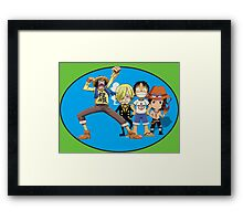 one piece time Framed Print