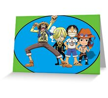one piece time Greeting Card