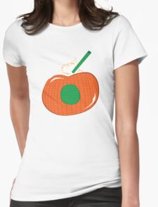 Pumpkin Spice Latté Womens Fitted T-Shirt