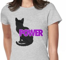 PUSSY POWER Womens Fitted T-Shirt