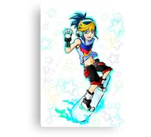 Yugo (Arc V) - Skate Canvas Print