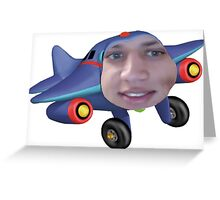 Tyler the jet engine Greeting Card