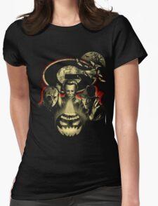 Georgia Bulldogs Halloween T-shirt  Womens Fitted T-Shirt