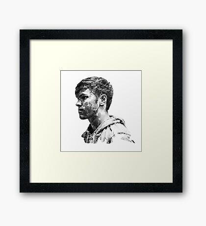 Genesis Project: Male Framed Print