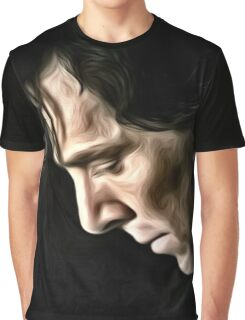 The Contemplative Consulting Detective Graphic T-Shirt