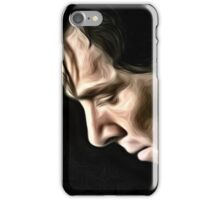 The Contemplative Consulting Detective iPhone Case/Skin