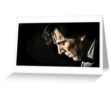 The Contemplative Consulting Detective Greeting Card