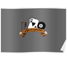 poker t shirt Poster