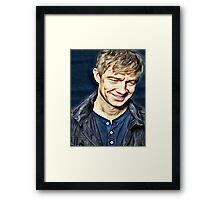The adorable blogger Framed Print