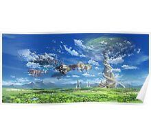 SAO - Fairy Dance Landscape Poster