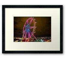 Star wheel Framed Print