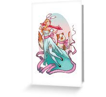 Oh, Fionna! Greeting Card