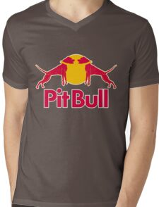 Pit Bull Mens V-Neck T-Shirt