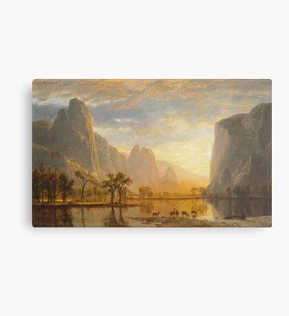 Albert Bierstadt - Valley of the Yosemite (1864)  Metal Print