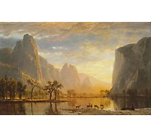 Albert Bierstadt - Valley of the Yosemite (1864)  Photographic Print