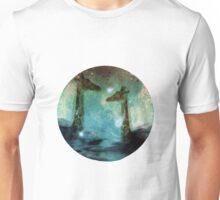 Giraffes Above Night Clouds Unisex T-Shirt