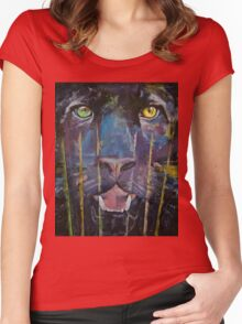 Panther Women's Fitted Scoop T-Shirt