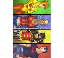 Young Justice Boys Photographic Print