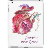 Find your inner Cyrano! iPad Case/Skin
