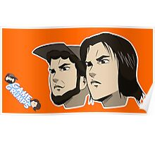 Game grumps Anime Heads Poster