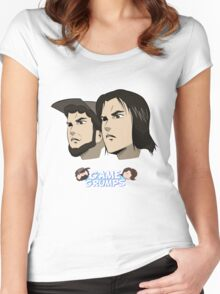 Game grumps Anime Heads Women's Fitted Scoop T-Shirt