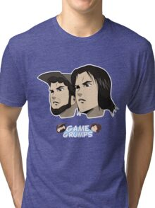 Game grumps Anime Heads Tri-blend T-Shirt