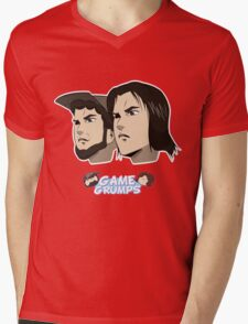 Game grumps Anime Heads Mens V-Neck T-Shirt