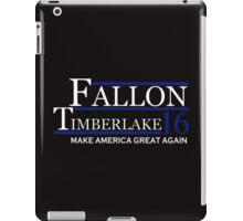Fallon timberlake iPad Case/Skin