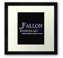 Fallon timberlake Framed Print
