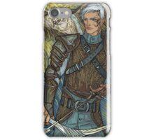 Hawk warrior iPhone Case/Skin