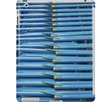 Stacked Blue Chair Abstract iPad Case/Skin