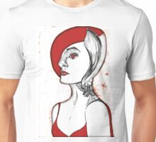 Vampire woman with tattoo Unisex T-Shirt