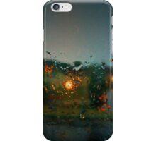 Rain Drops on a Window iPhone Case/Skin