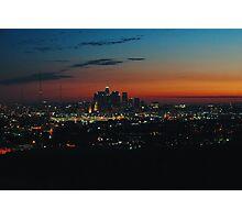 West coast sunset Photographic Print