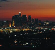 West coast sunset Sticker