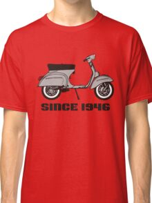 mod mods vespa motor bike retro vintage punk rock pop Classic T-Shirt