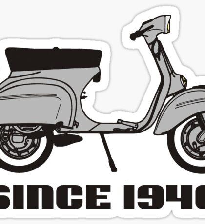 mod mods vespa motor bike retro vintage punk rock pop Sticker