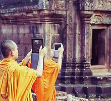 Modern day monks by Kevin Hayden