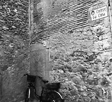 Bicycle in an Alley by James2001