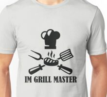 #10 IM GRILL MASTER (Black) Unisex T-Shirt