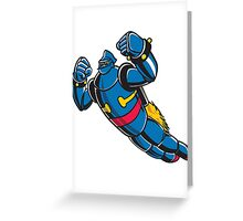 Gigantor the space age robot Greeting Card