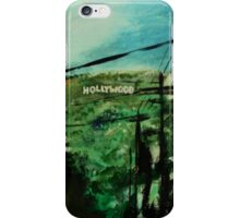 Hollywood California USA Fine Art Contemporary Acrylic Painting  iPhone Case/Skin