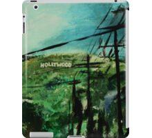 Hollywood California USA Fine Art Contemporary Acrylic Painting  iPad Case/Skin
