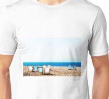 Beach chairs Unisex T-Shirt