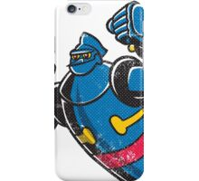 Gigantor the space age robot - grungy iPhone Case/Skin