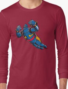 Gigantor the space age robot - grungy Long Sleeve T-Shirt