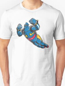 Gigantor the space age robot - grungy Unisex T-Shirt